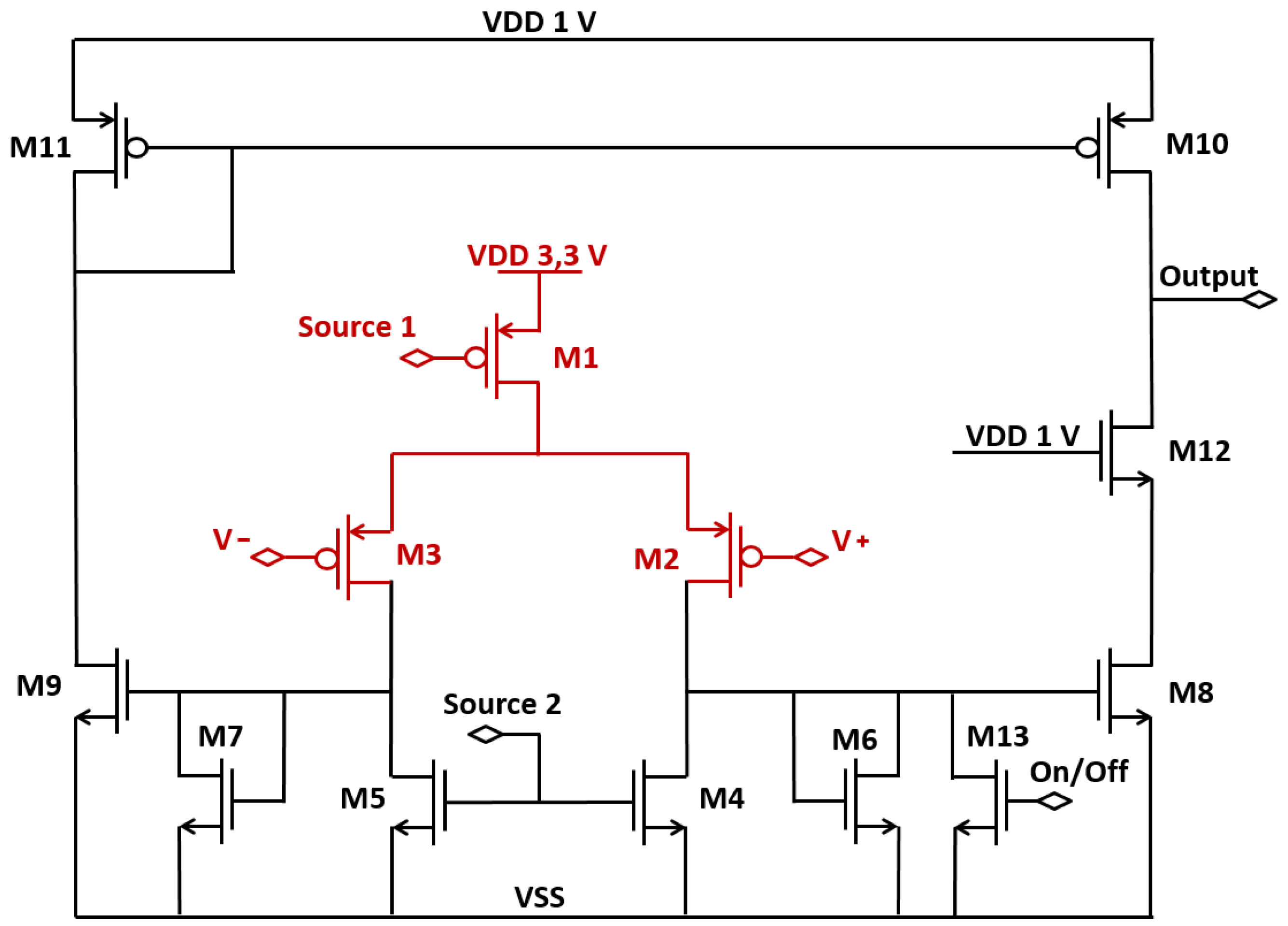 Instruments Free Full Text Quenching Circuit And Spad Integrated Op Amp Voltage Follower Saturation Electrical Engineering Stack 02 00019 G003