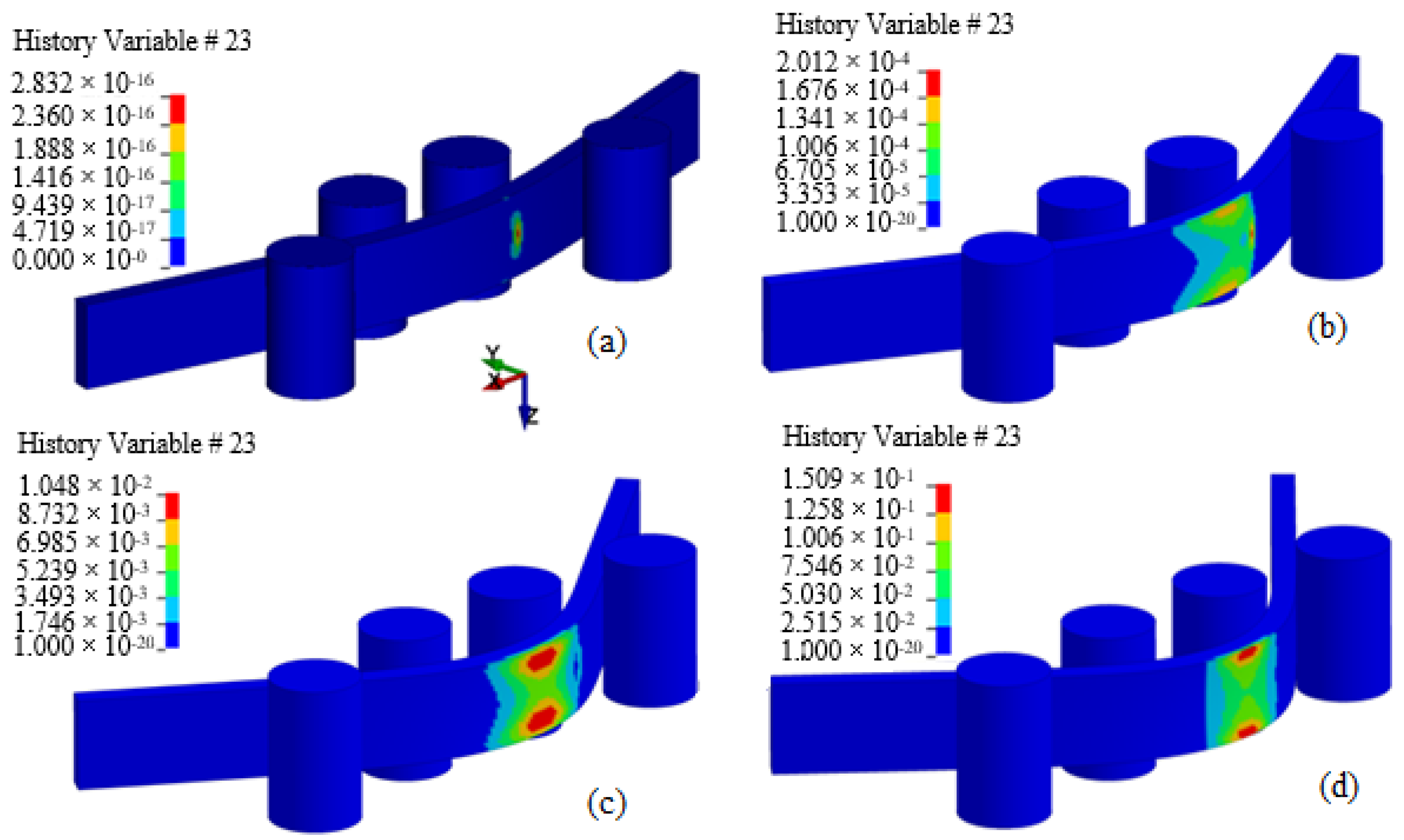 J Compos Sci Free Full Text Four Point Flexural Response Of Acrylonitrile Butadiene Styrene Html