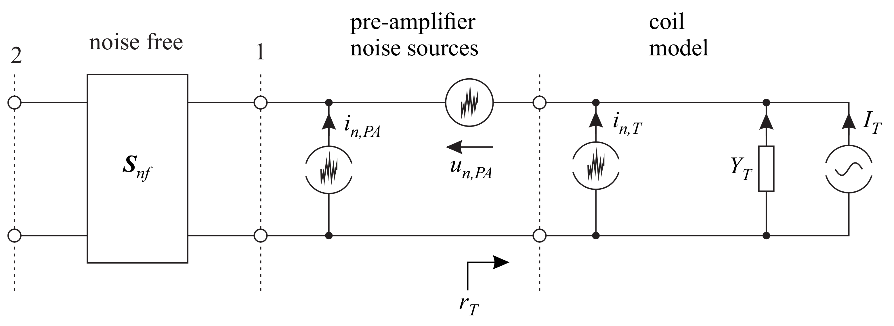 J Imaging Free Full Text Radio Frequency Modeling Of Receive Amplifier No