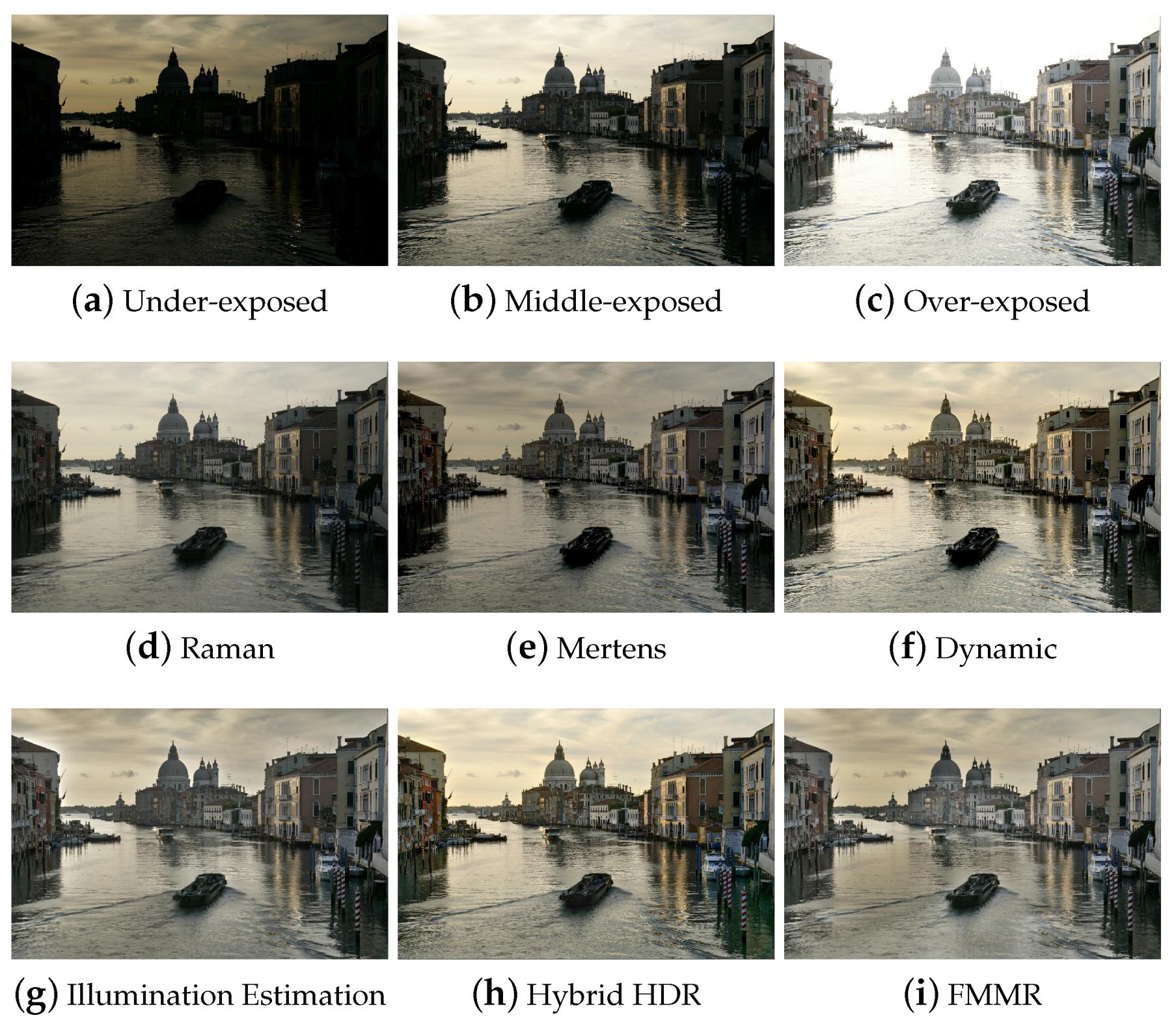 J  Imaging   Free Full-Text   Multiple-Exposure Image Fusion