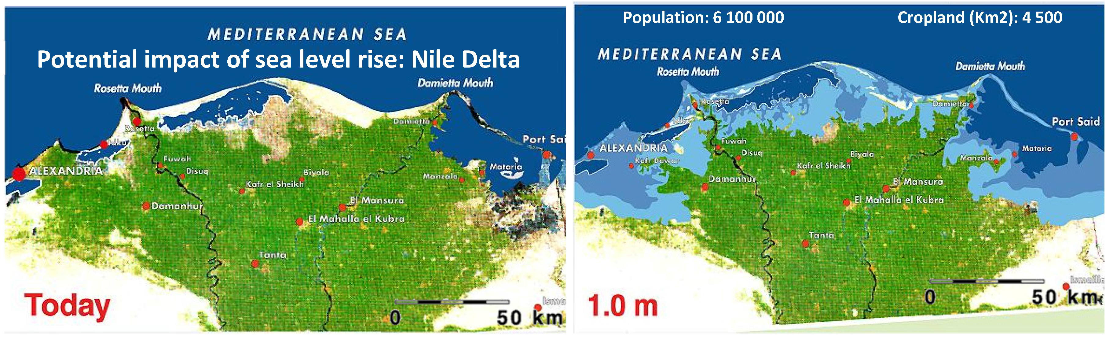 impact of sea level rise and adaption strategy The yangtze river delta characterized by a dense population and a rapidly  developing economy is highly vulnerable to sea-level rise the data from the  china.