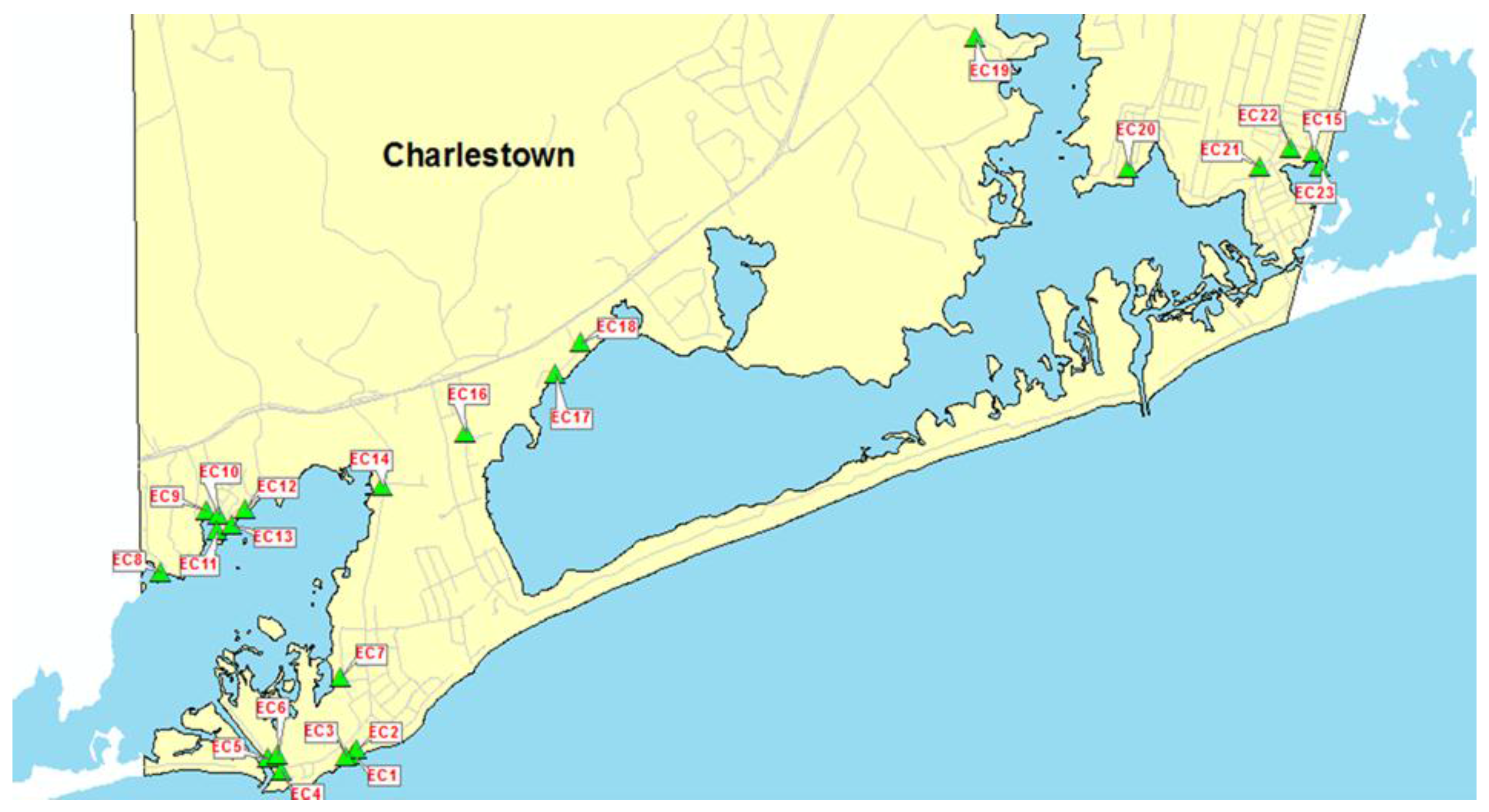Us Navy Map Submerged Areas