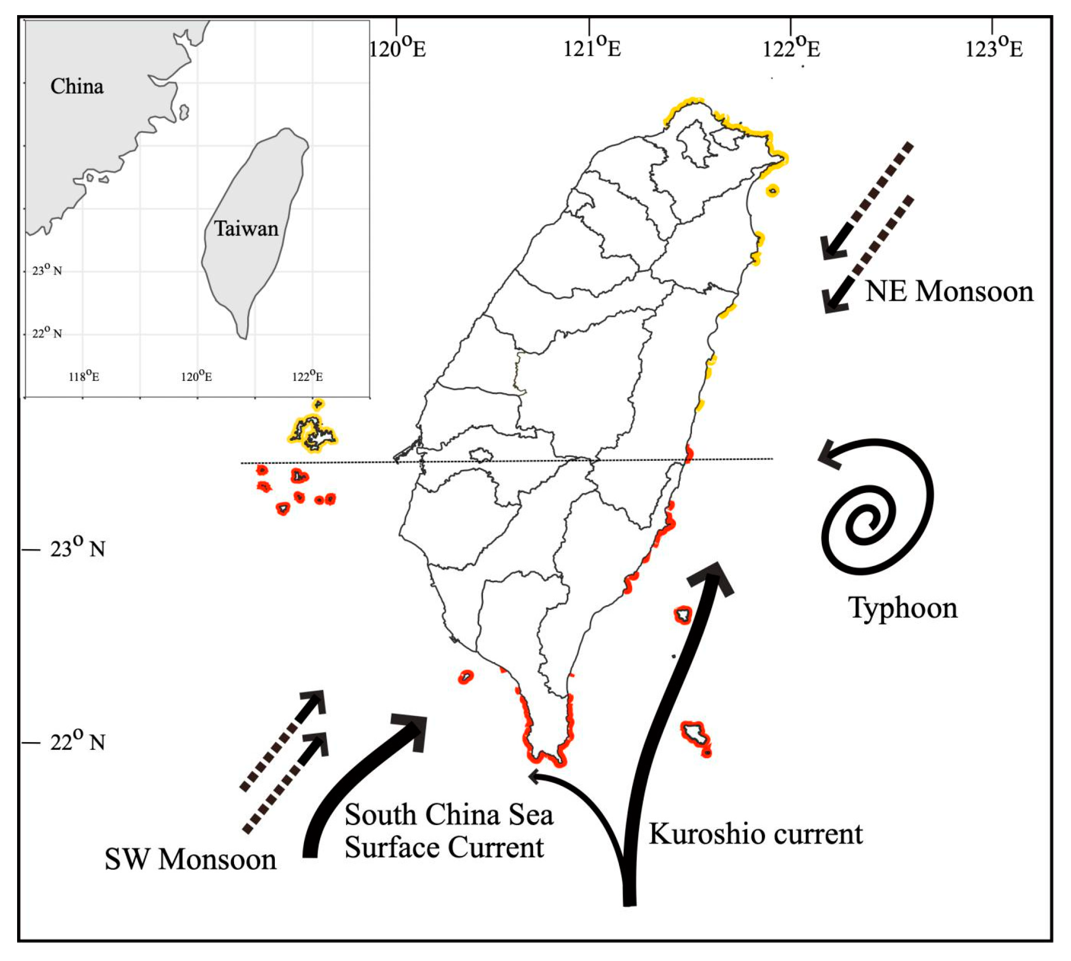 Jmse Free Full Text Coral Reef Resilience In Taiwan Lessons From Long Term Ecological Research On The Coral Reefs Of Kenting National Park Taiwan Html