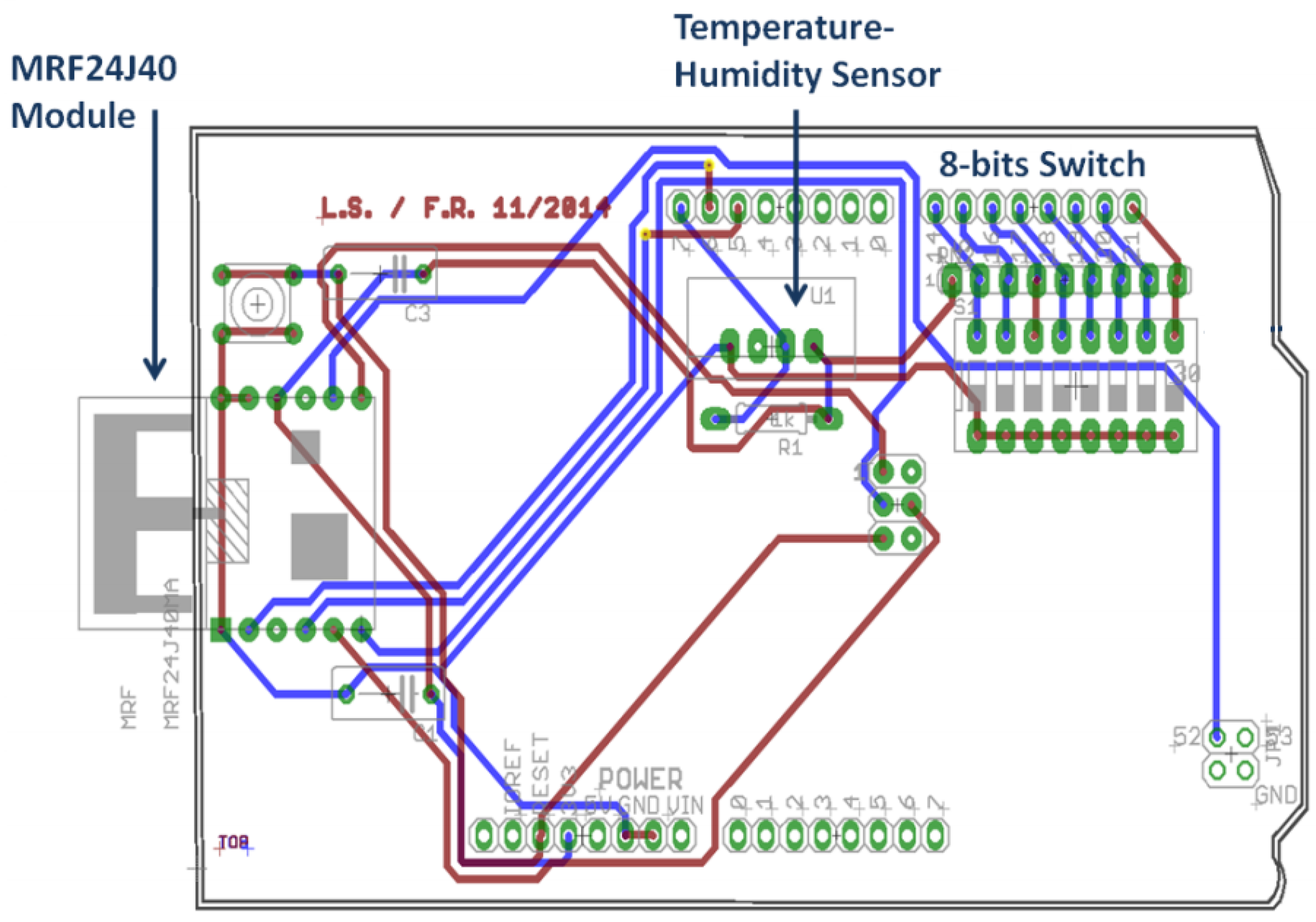 Jsan Free Full Text Energy Efficient Hardware And Improved Circuit Diagram Of Zigbee Module No