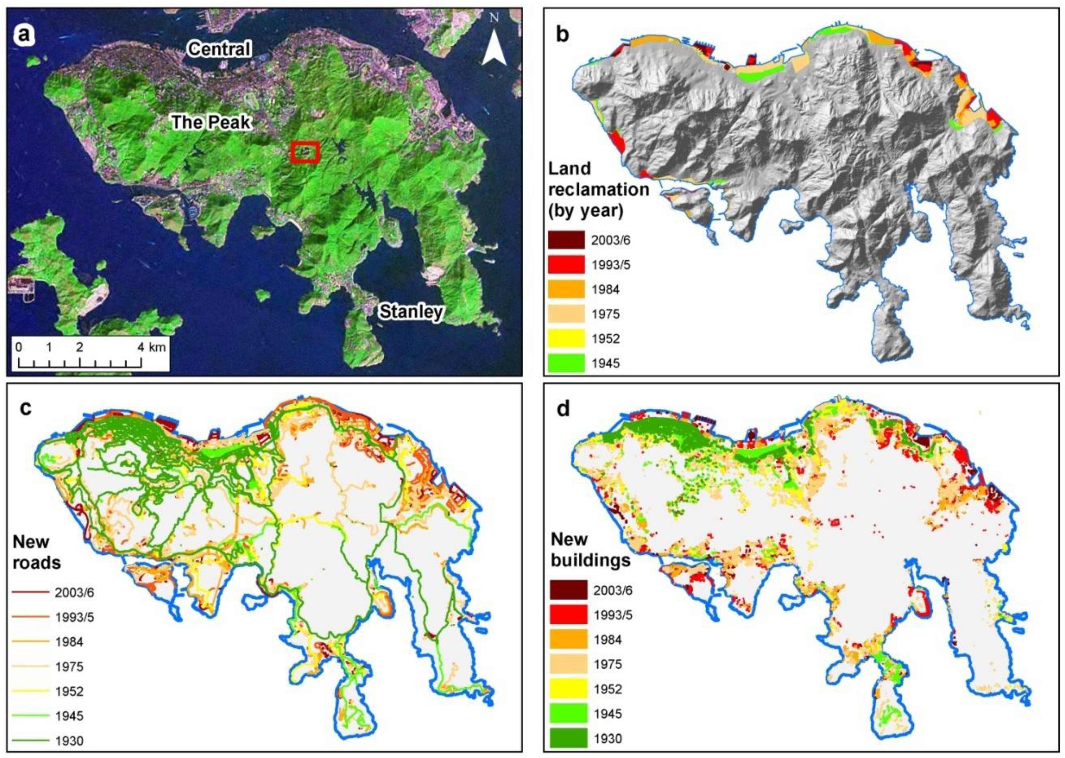 Land | Free Full-Text | Incorporating Topography into Landscape ...