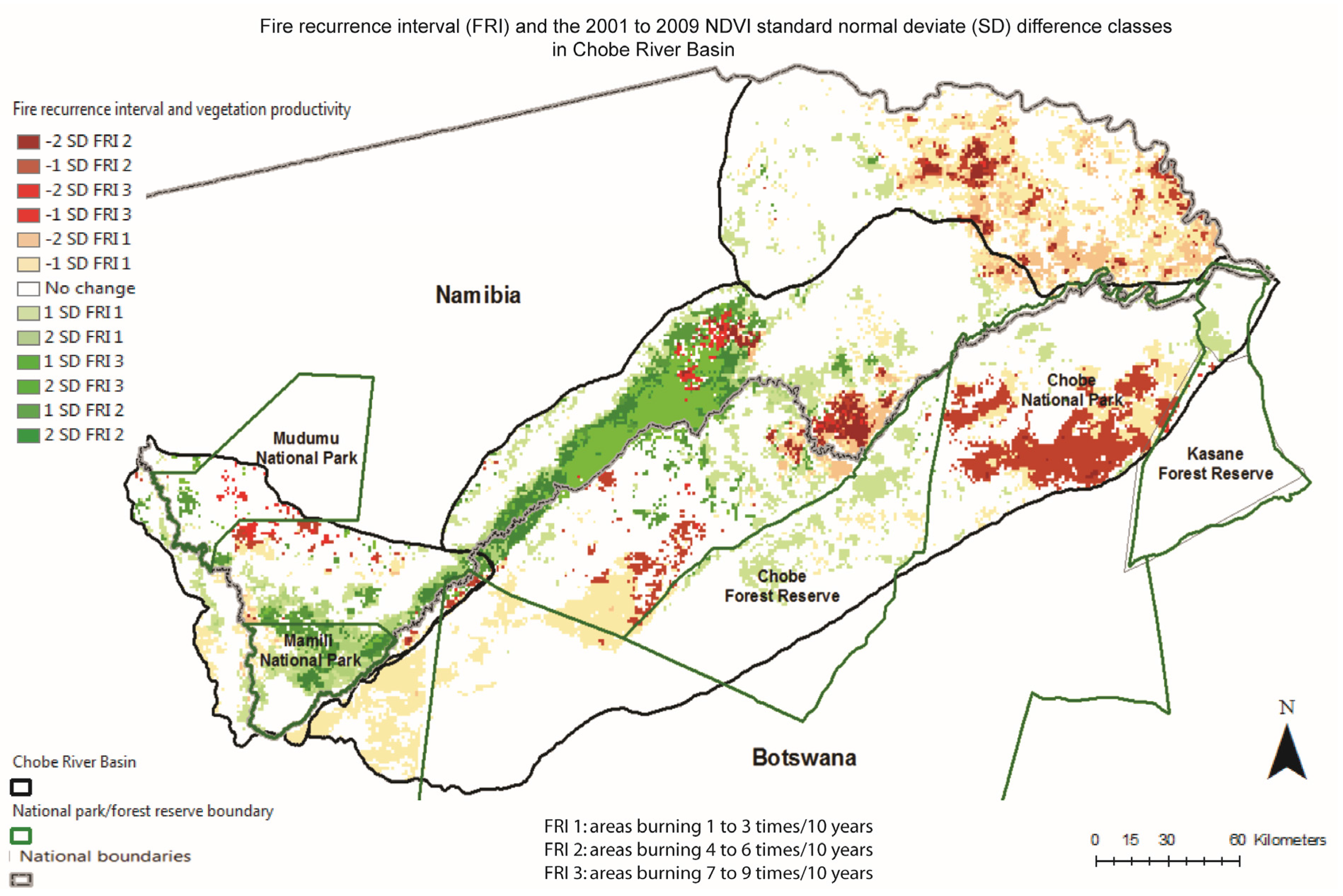 Land Free FullText SpatioTemporal Analysis of Vegetation