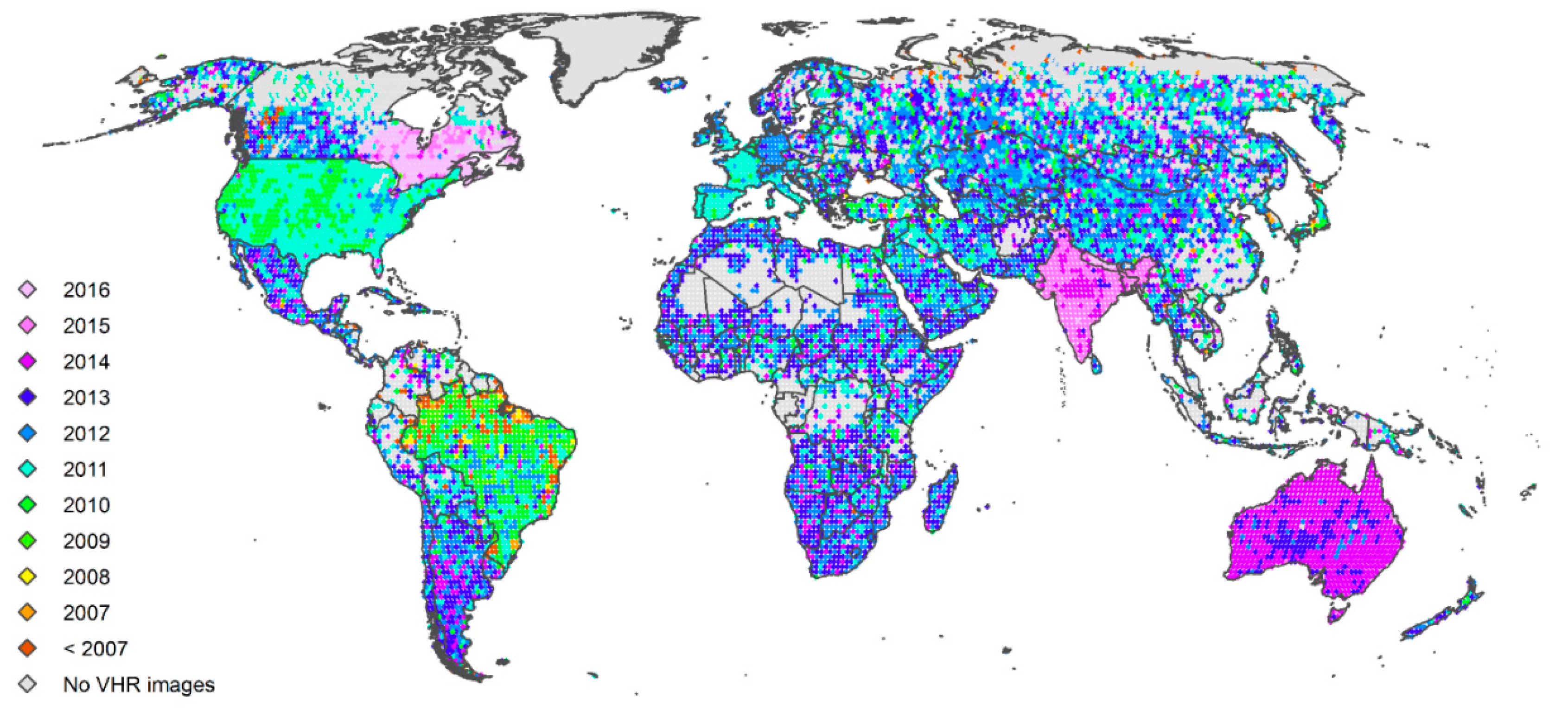 Land | Free Full-Text | Characterizing the Spatial and