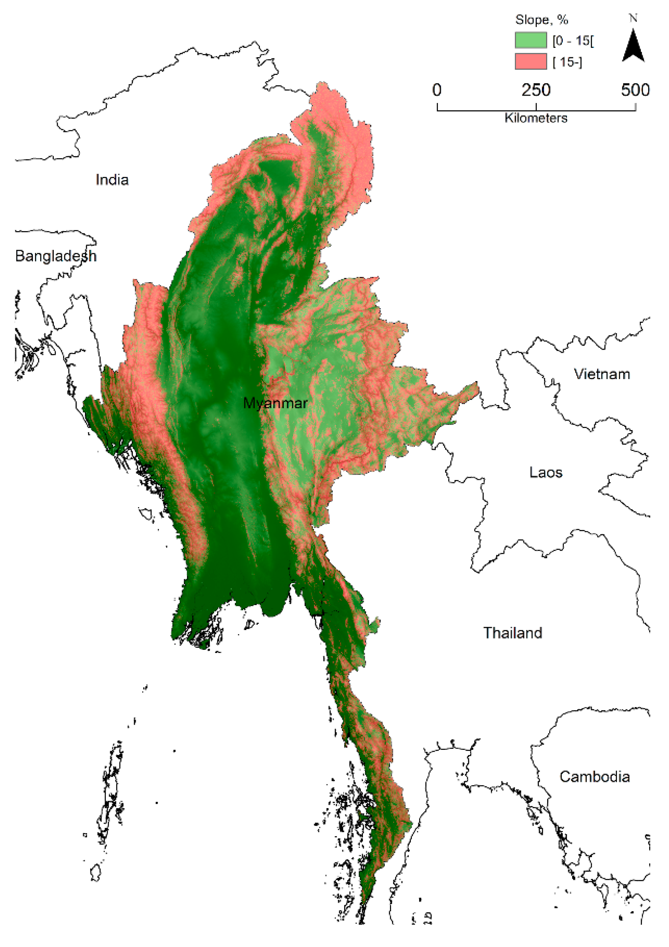 Land | Free Full-Text | What Awaits Myanmar's Uplands