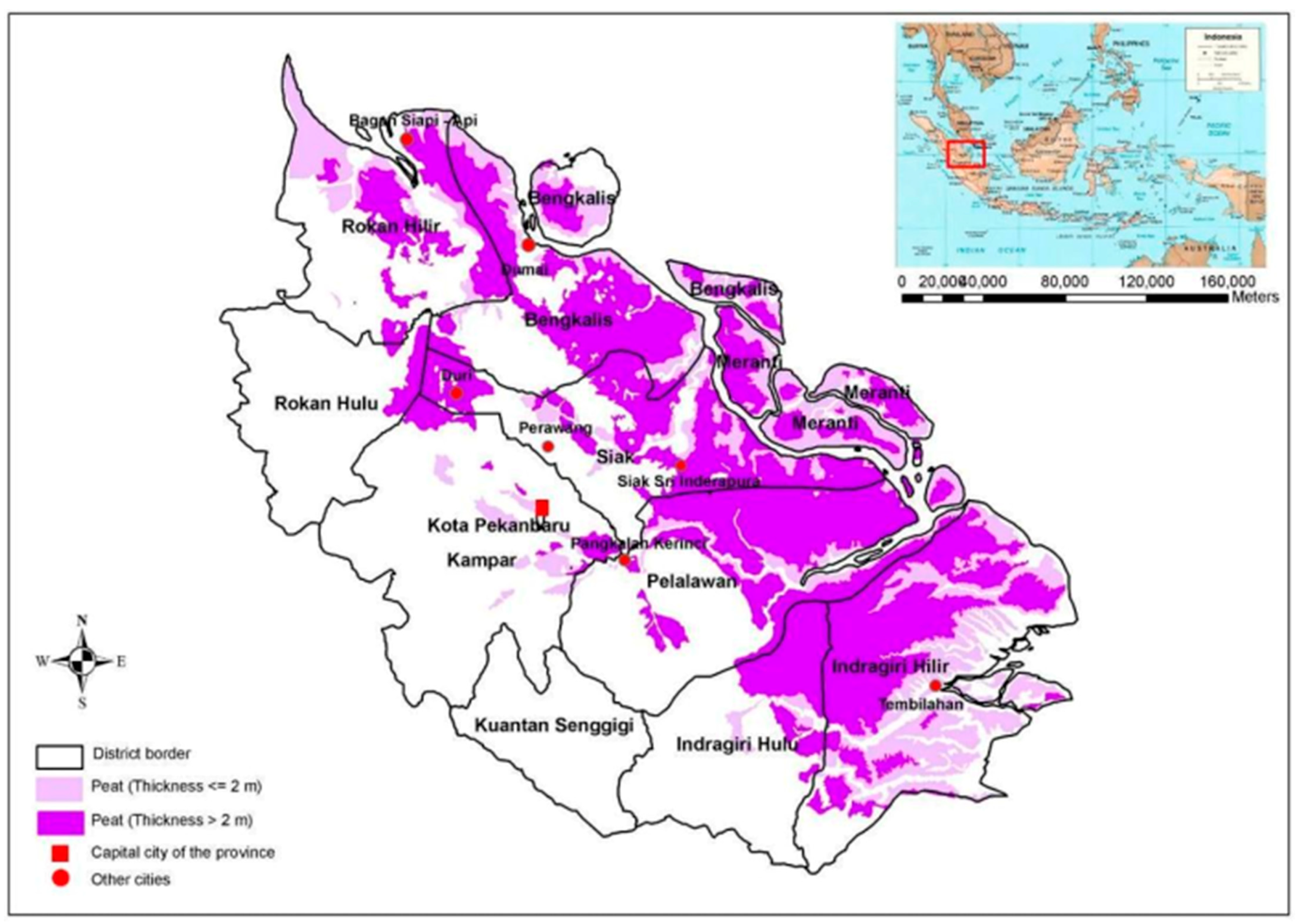 Land Free Full Text Beyond Fires And Deforestation Tackling Land Subsidence In Peatland Areas A Case Study From Riau Indonesia Html