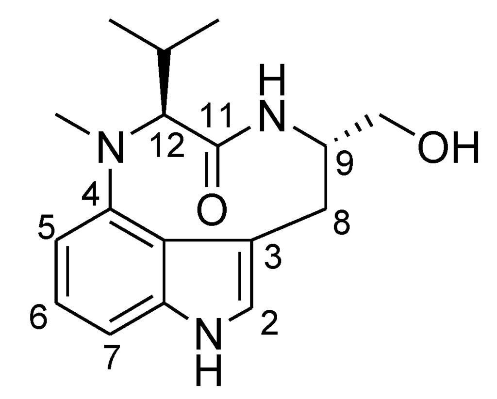 marine drugs free fulltext a new lyngbyatoxin from