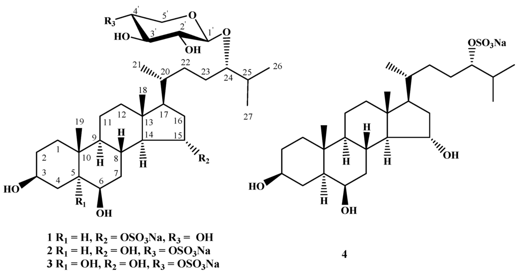 polyhydroxylated steroids