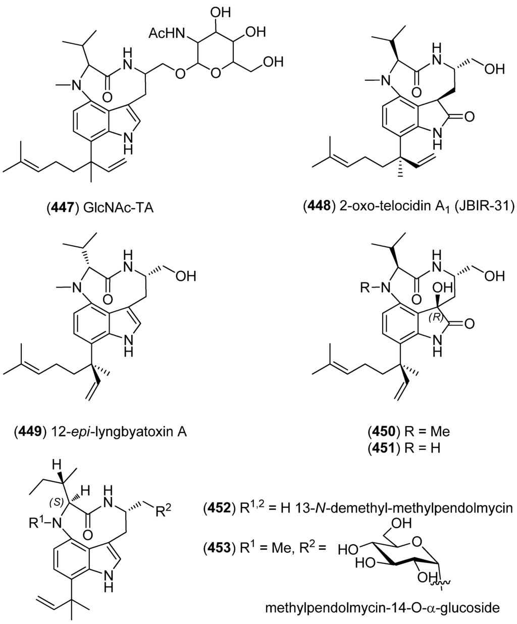 marine drugs free fulltext marine indole alkaloids html