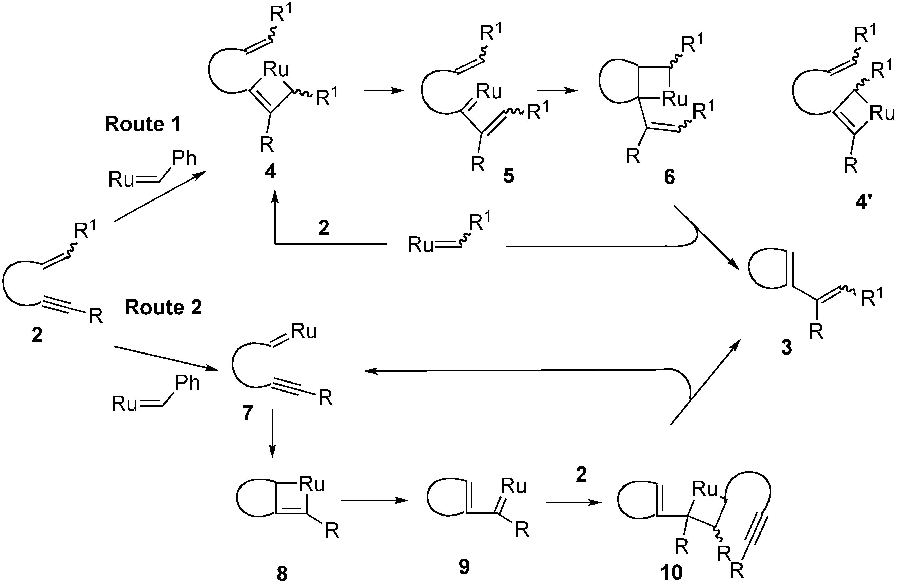 Ruthenium Vinyl Carbene Intermediates in Enyne Metathesis