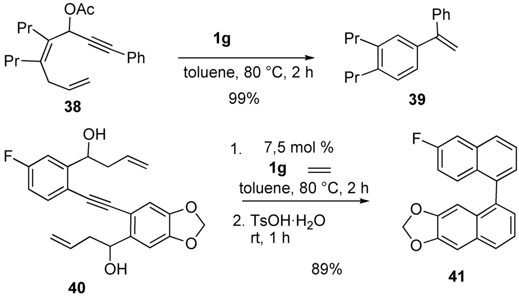 solvents for ring closing metathesis reactions