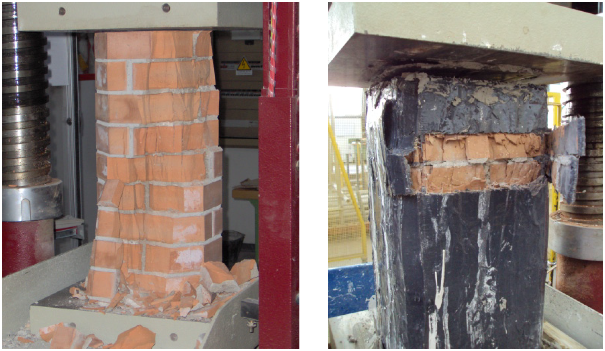 Composite Metal Column Covers : Materials free full text masonry columns confined by