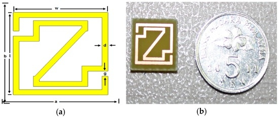 A New Compact Double-Negative Miniaturized Metamaterial for Wideband Operation