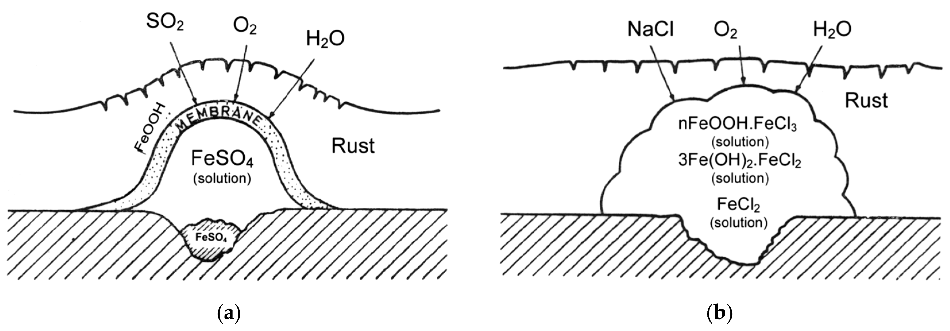 Materials Free Full Text Marine Atmospheric Corrosion Of Carbon Steel A Review Html