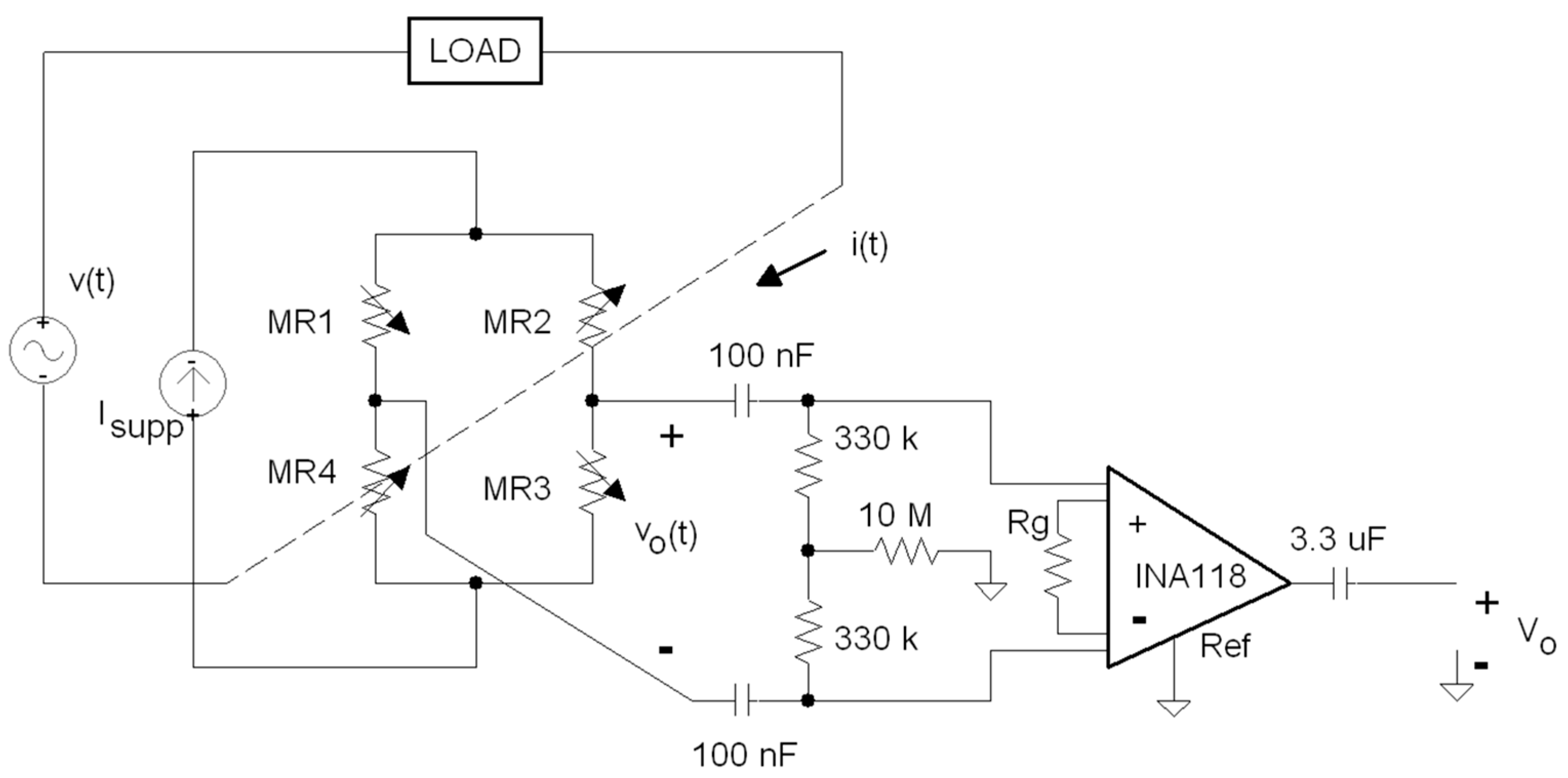 Materials Free Full Text Electronic Energy Meter Based On A Ac Line Voltage Current Detector Circuit Further Analog Vs Digital 10 01134 G007