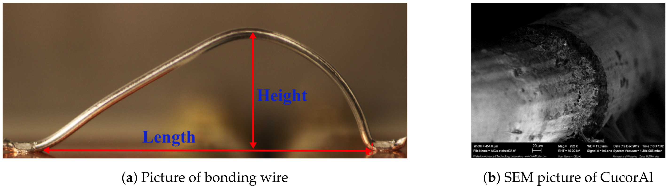 Materials | Free Full-Text | Reliability Criteria for Thick Bonding Wire