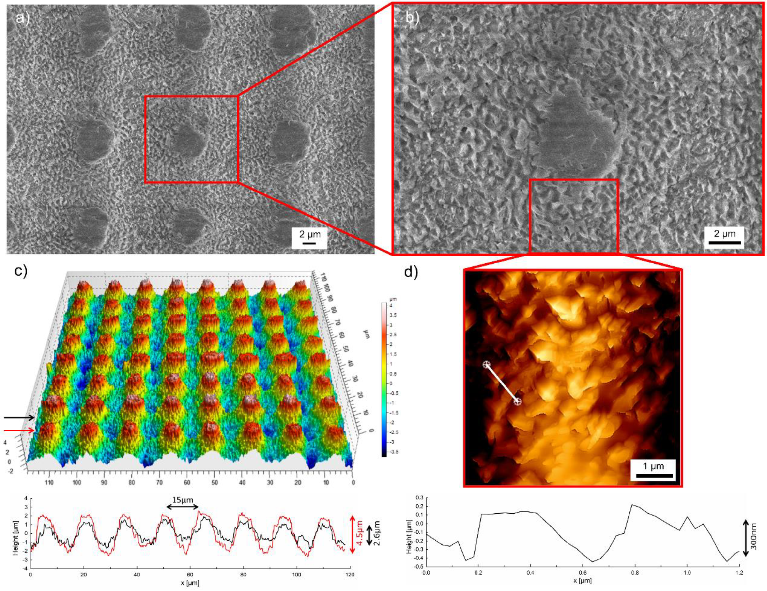 Materials   Free Full-Text   Multifunctional Hierarchical Surface ...