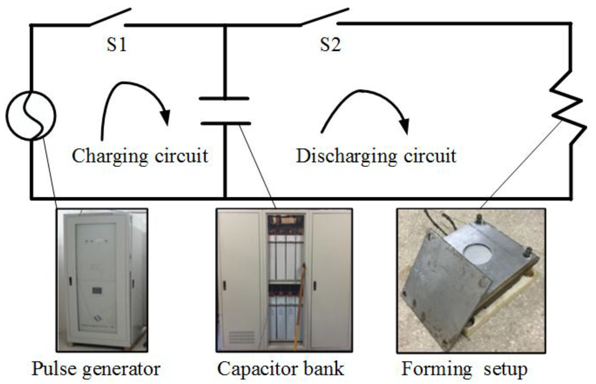 Materials Free Full Text Comparative Research On The Rebound Capacitor Charging Circuit No