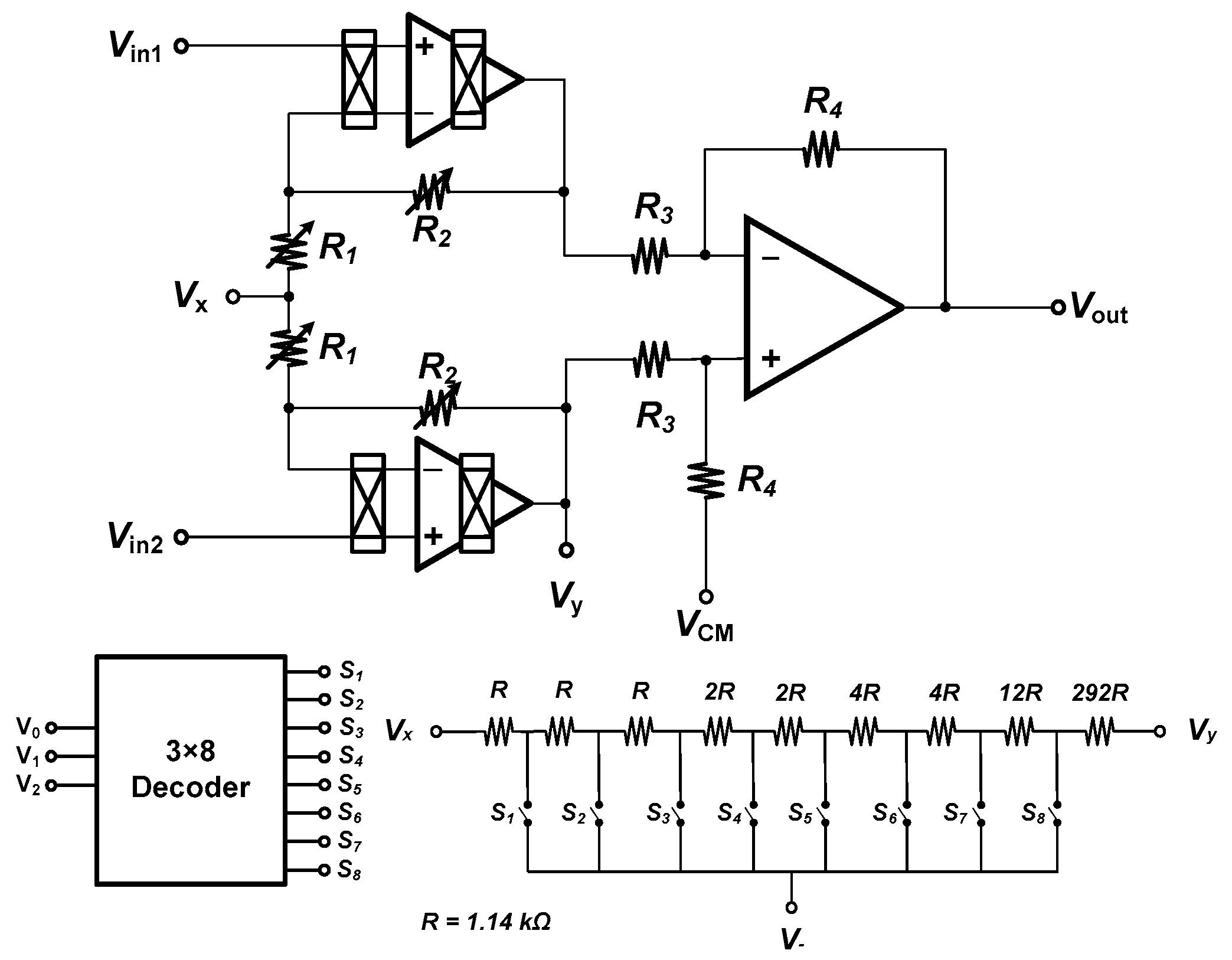 Micromachines Free Full Text Chopper Stabilized Instrumentation 3 8 Decoder Logic Diagram 09 00289 G002