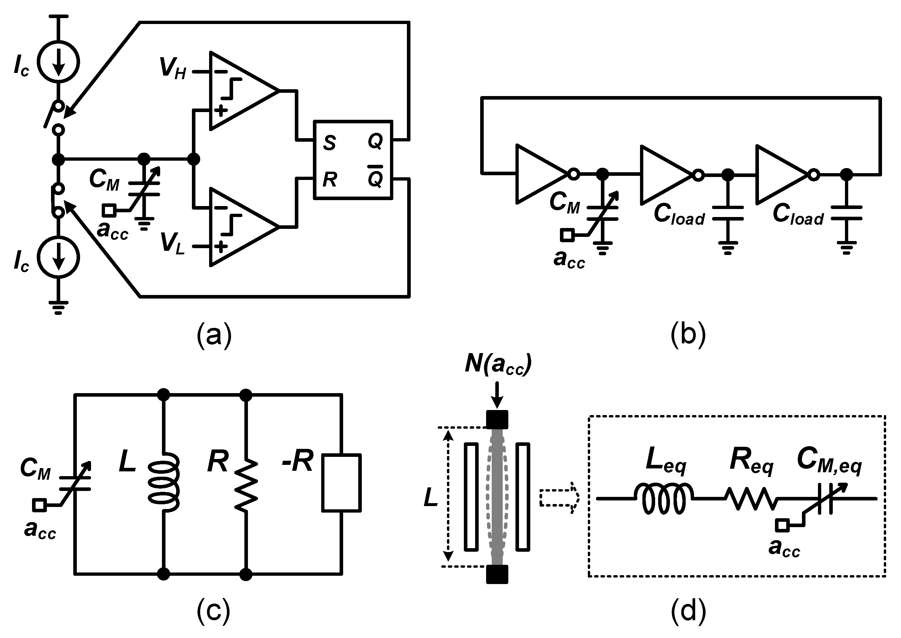 Micromachines Free Full Text On Frequency Based Interface Accelerometer Sensor Schematic Diagram No