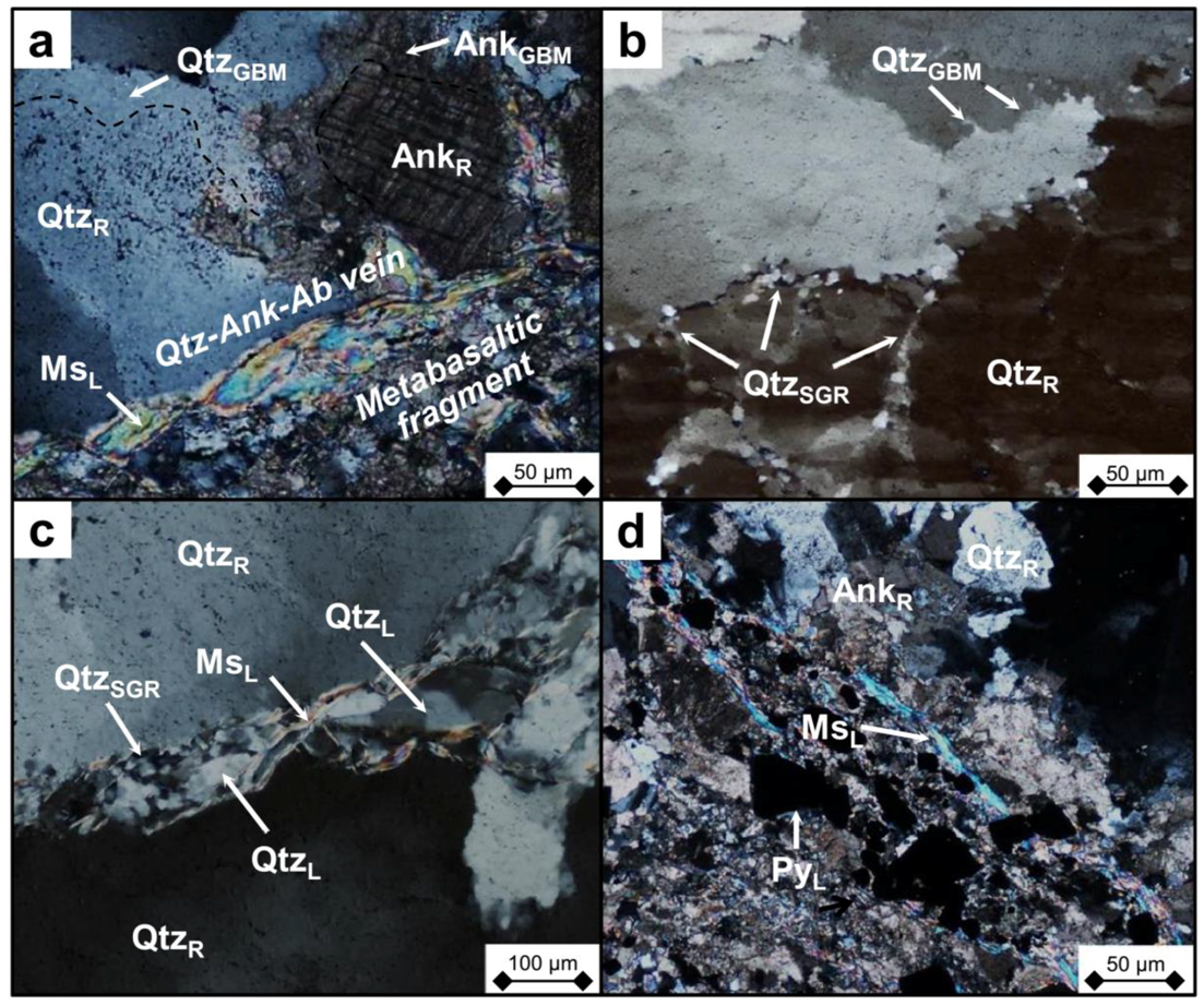Minerals | Free Full-Text | Control of Shear-Zone-Induced