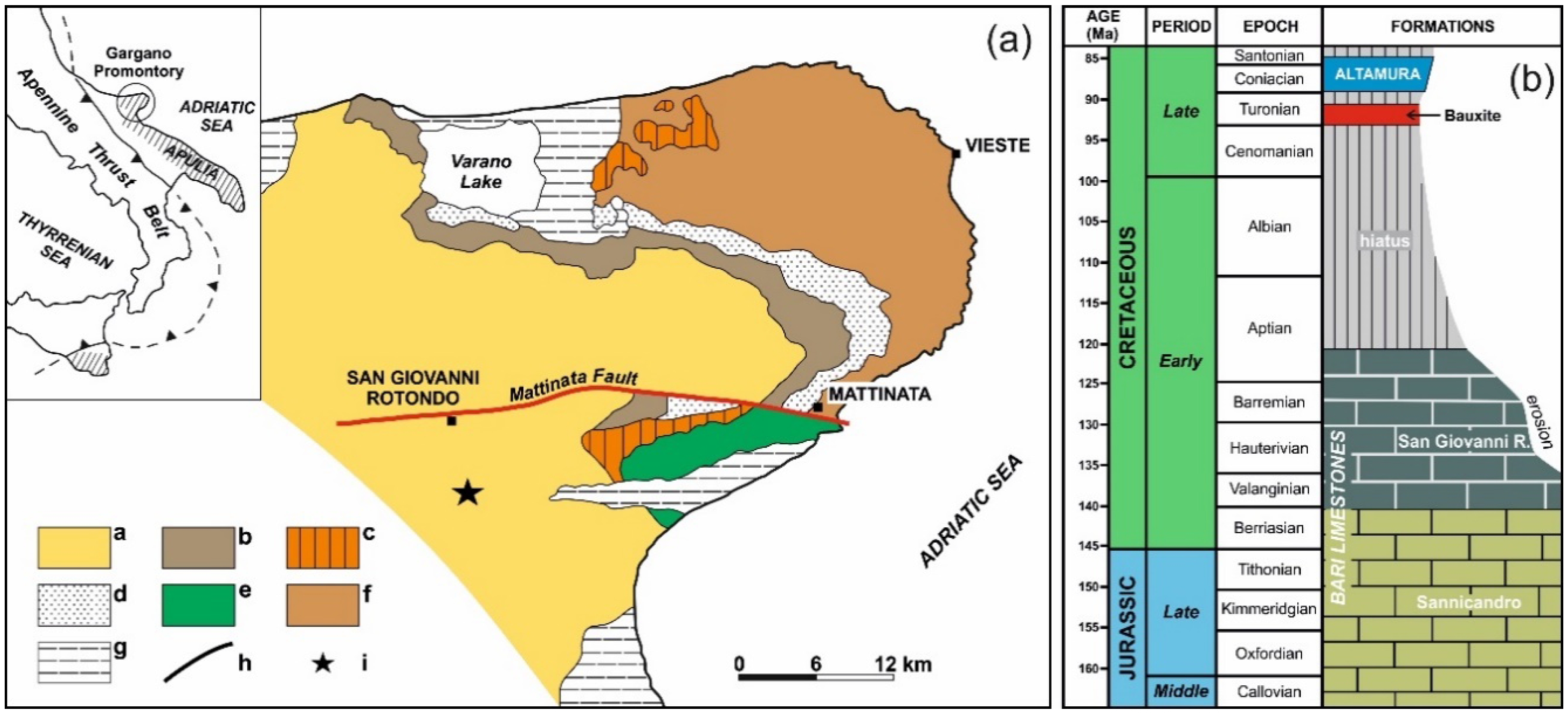 San Giovanni Rotondo Italy Map.Minerals Free Full Text Mineralogical And Geochemical Features