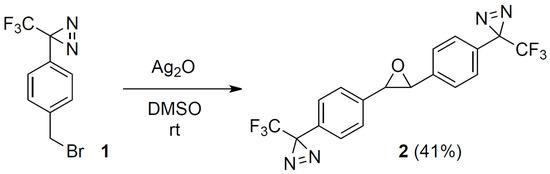 2,3-Bis4-3-trifluoromethyl-3H-diazirin-3-ylphenyloxirane