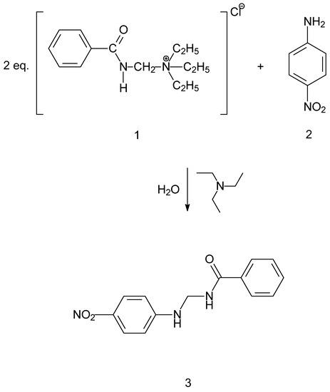 N-{4-Nitrophenylaminomethyl}benzamide