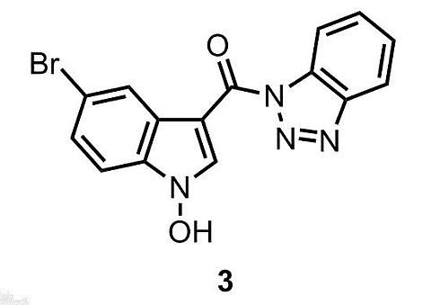 1H-Benzod1,2,3triazol-1-yl5-bromo-1-hydroxy-1H-indol-3-ylmethanone†