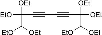 1,1,2,2,7,7,8,8-Octaethoxyocta-3,5-diyne