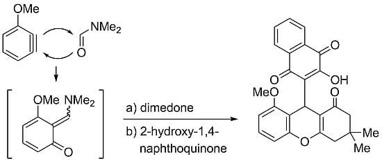 2,3,4,9-Tetrahydro-9-3-hydroxy-1,4-dioxo-1H-dihydro-naphthalen-2-yl-8-methoxy-3,3-dimethyl-1H-xanthen-1-one