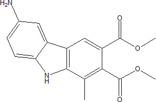 Dimethyl 6-Amino-1-methyl-9H-carbazole-2,3-dicarboxylate