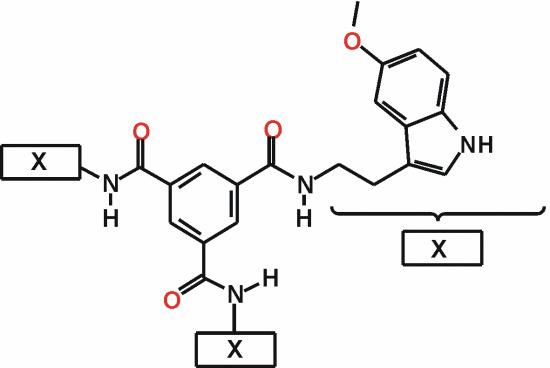 N,N,N-Tris5-methoxy-1H-indol-3-ylethylbenzene-1,3,5-tricarboxamide