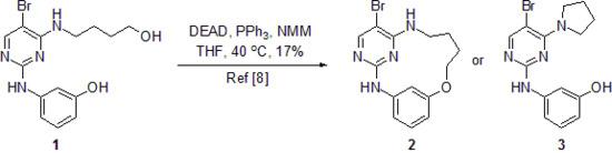 3-{5-Bromo-4-pyrrolidin-1-ylpyrimidin-2-yl}aminophenol