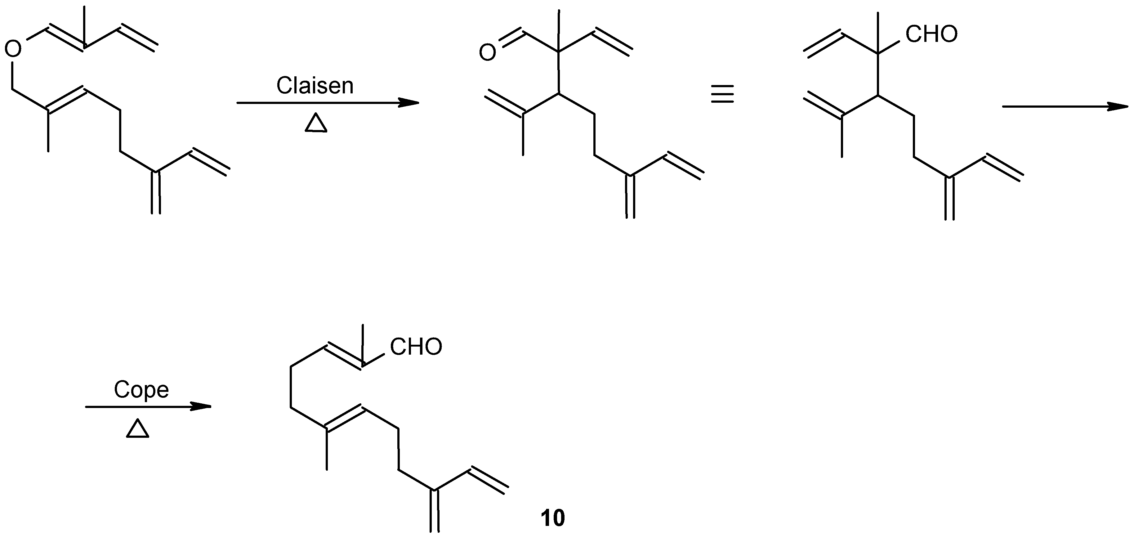 Molecules   Free Full-Text   Claisen, Cope and Related