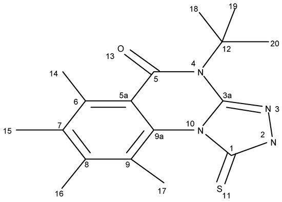 Regioselectivity of Electrophilic Attack on 4-Methyl-1-Thioxo-1,2,4,5-Tetrahydro1,2,4Triazolo4,3-AQuinazolin-5-One Part 2: Reactions on Nitrogen Atom