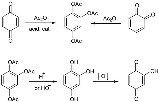 Hydroxyquinones: Synthesis and Reactivity