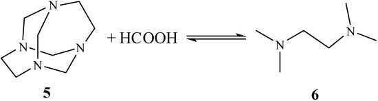 Unusual Reactivity Patterns of 1,3,6,8-Tetraazatricyclo-4.4.1.13,8-dodecane TATD Towards Some Reducing Agents: Synthesis of TMEDA