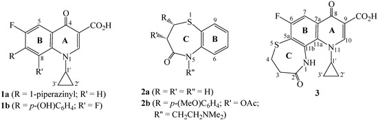 Heterocycles hFused onto 4-Oxoquinoline-3-Carboxylic Acid, Part IV. Convenient Synthesis of Substituted Hexahydro 1,4Thiazepino2,3-hquinoline-9-carboxylic Acid and Its Tetrahydroquino7,8-bbenzothiazepine Homolog