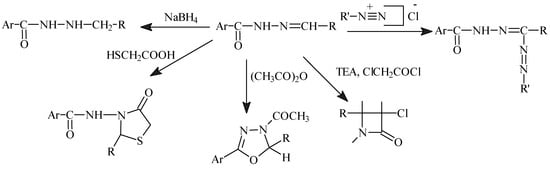Biological Activities of Hydrazone Derivatives