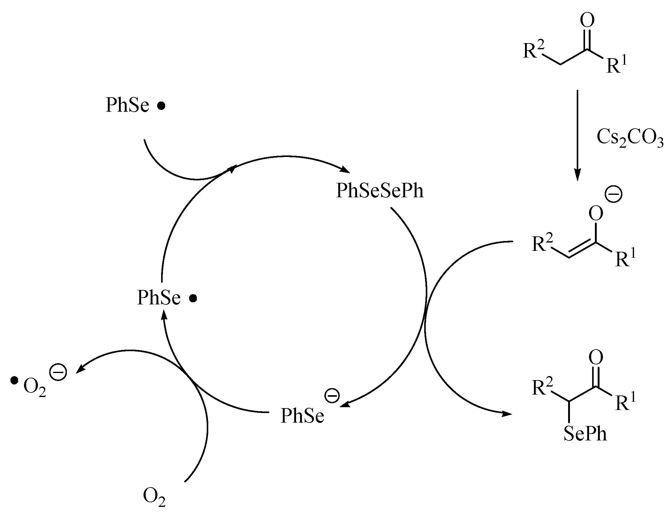 Molecules | Free Full-Text | Cesium Carbonate-Catalyzed α