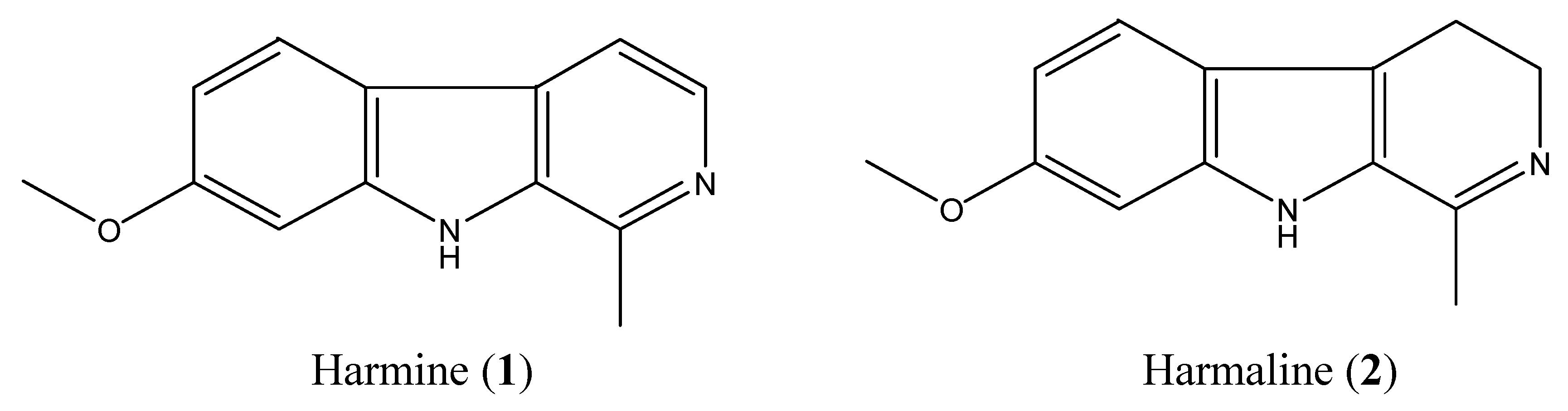 Molecules free full text main alkaloids of peganum harmala l no pooptronica