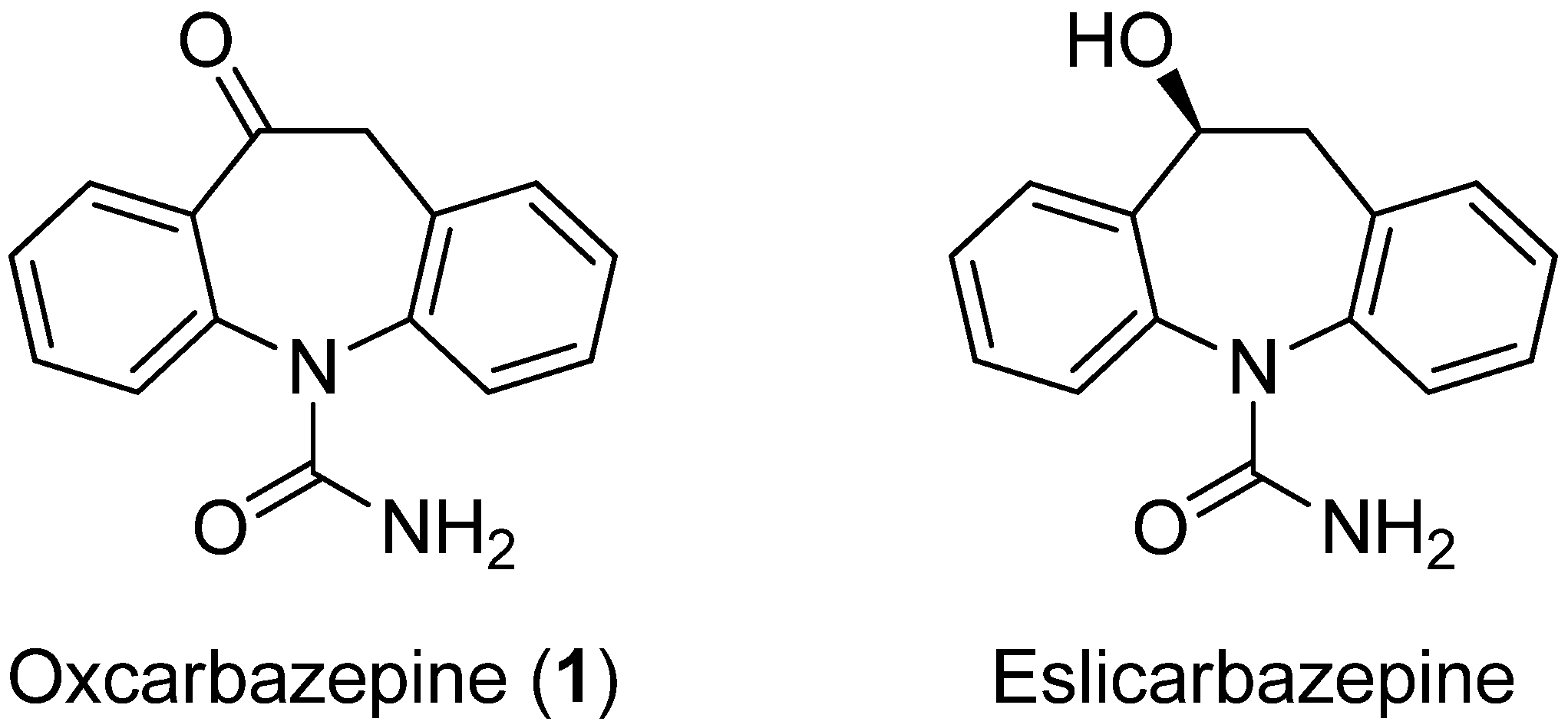 oxcarbazepine structure activity relationship of selegiline