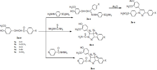 Synthesis, Characterization, Antimicrobial Screening and Free-Radical Scavenging Activity of Some Novel Substituted Pyrazoles