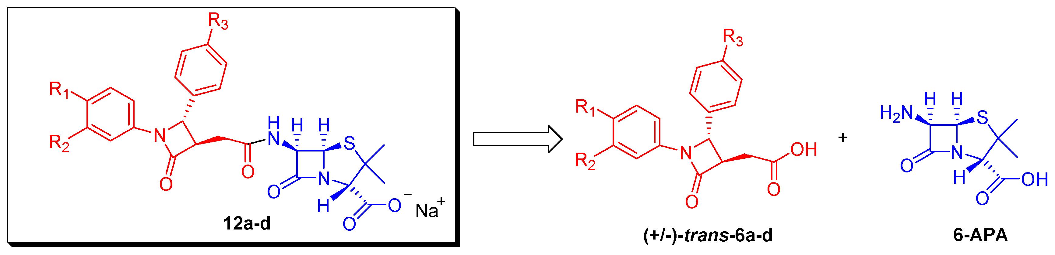 molecules free full text novel penicillin type analogues bearing
