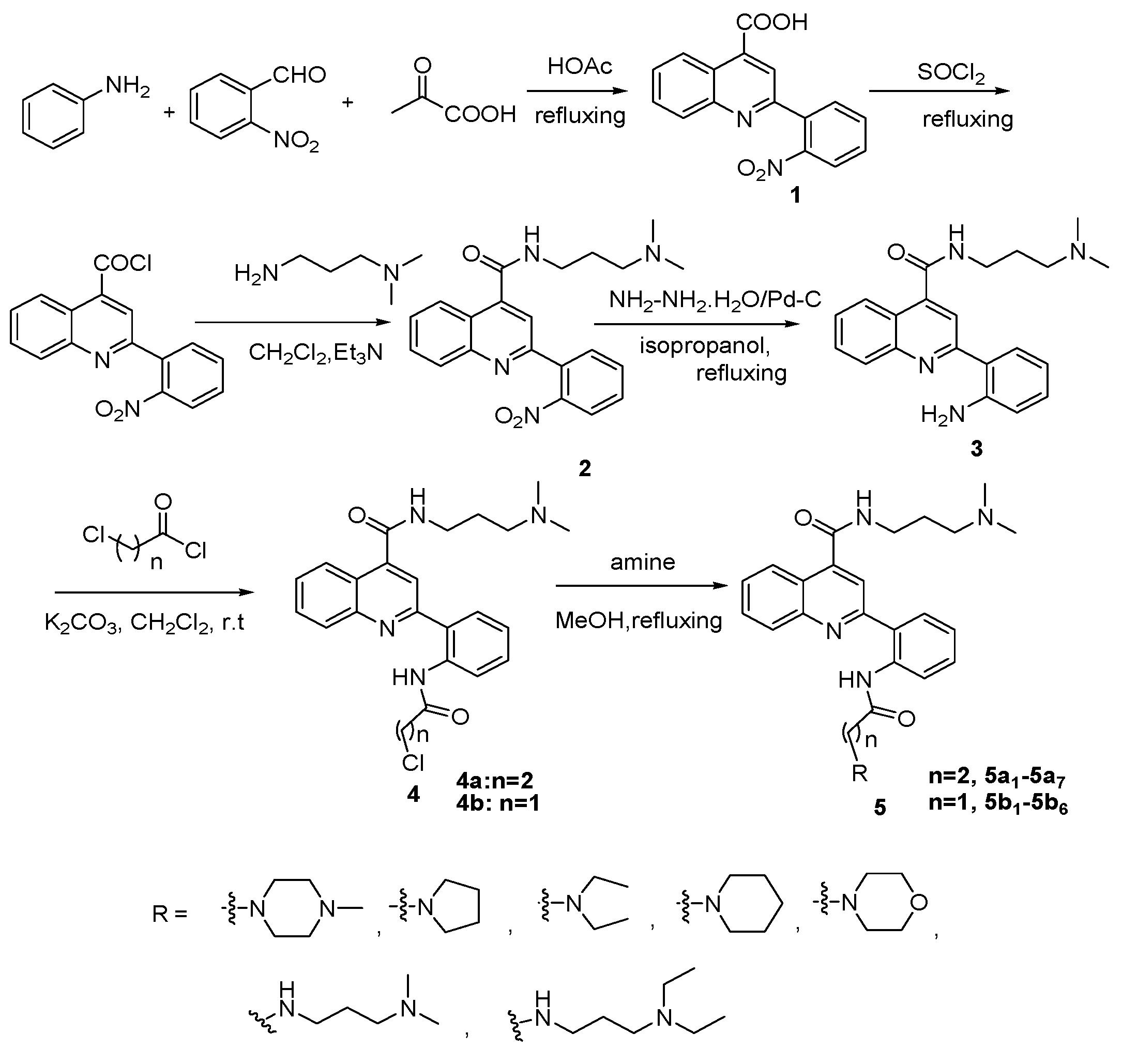 synthesis of quinoline derivatives pdf