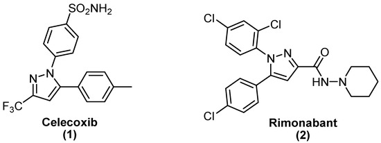 Design and Synthesis of Novel Pyrazole-Substituted Different Nitrogenous Heterocyclic Ring Systems as Potential Anti-Inflammatory Agents